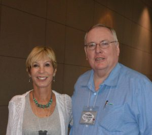 Pam Potter with Preston Lewis